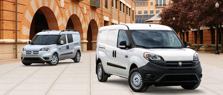 2017 ram promastercity 1 Las diez minivans mejor valoradas de 2017