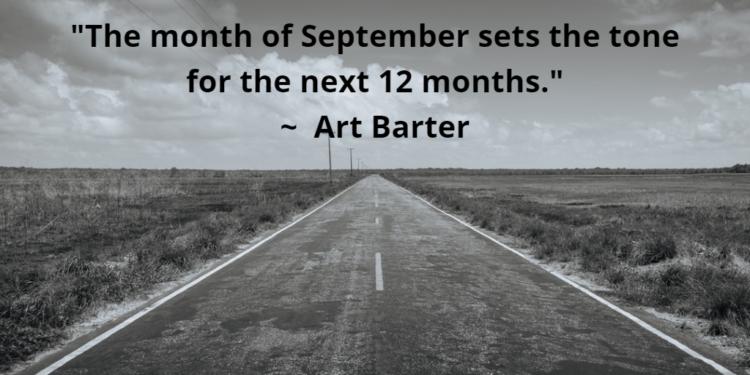 2018 09 Art Barter MoneyInc SeptemberSetsTheTone e1537379716631 Conduciendo al otoño