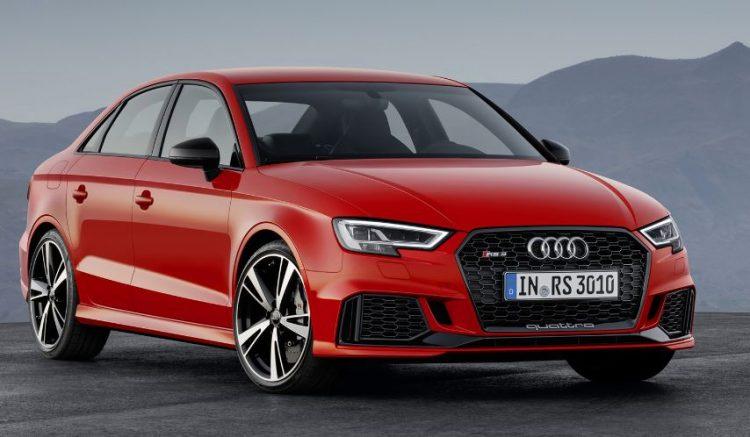2018 Audi RS3 Los 10 mejores sedanes deportivos para buscar en 2018