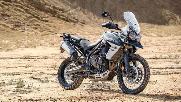 2018 Triumph Tiger 800 XCA 5 Las 10 mejores motocicletas de 2018