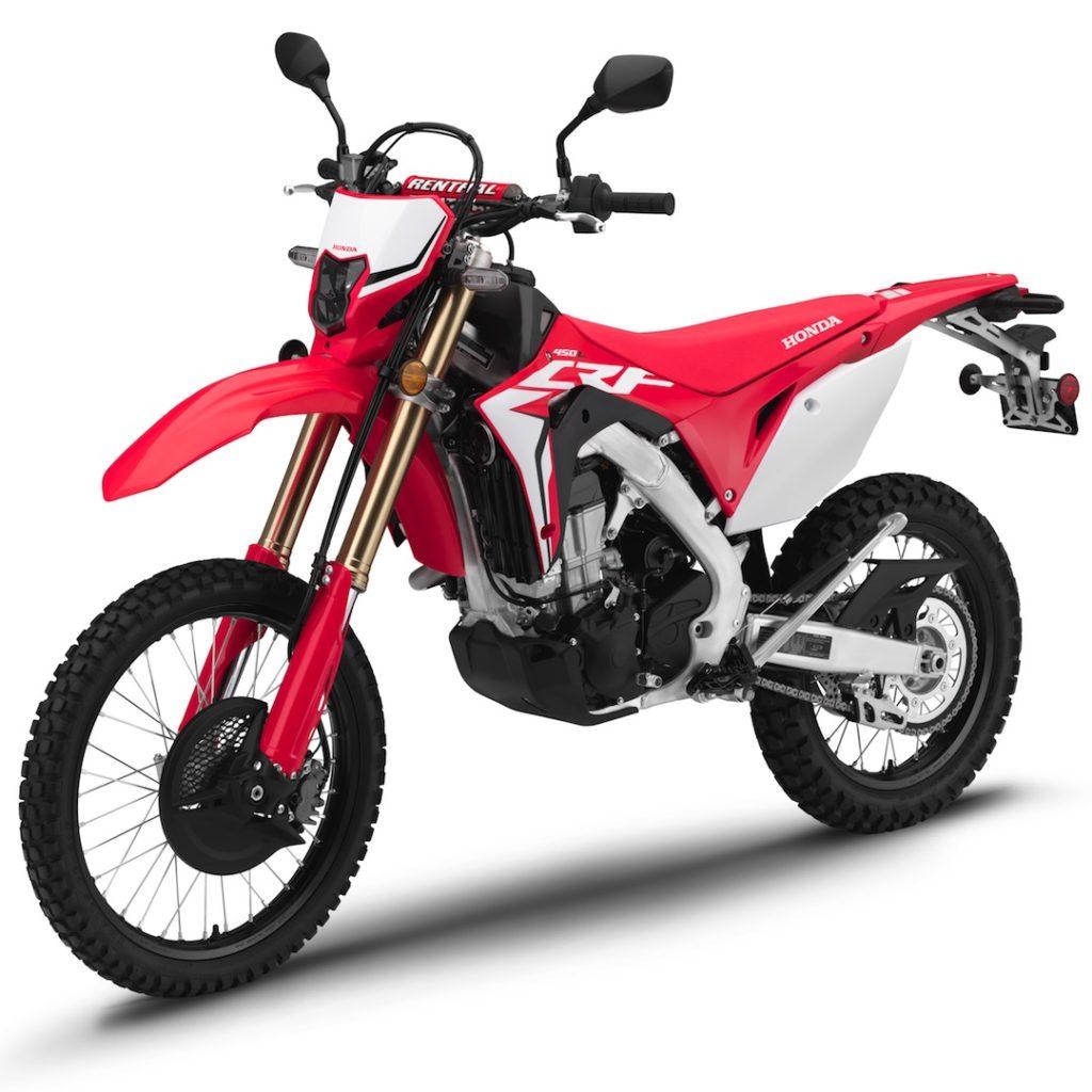 2019 Honda CRF450L First Look dual sport motorcycle 9 Las cinco mejores motocicletas de aventura para montar en 2019