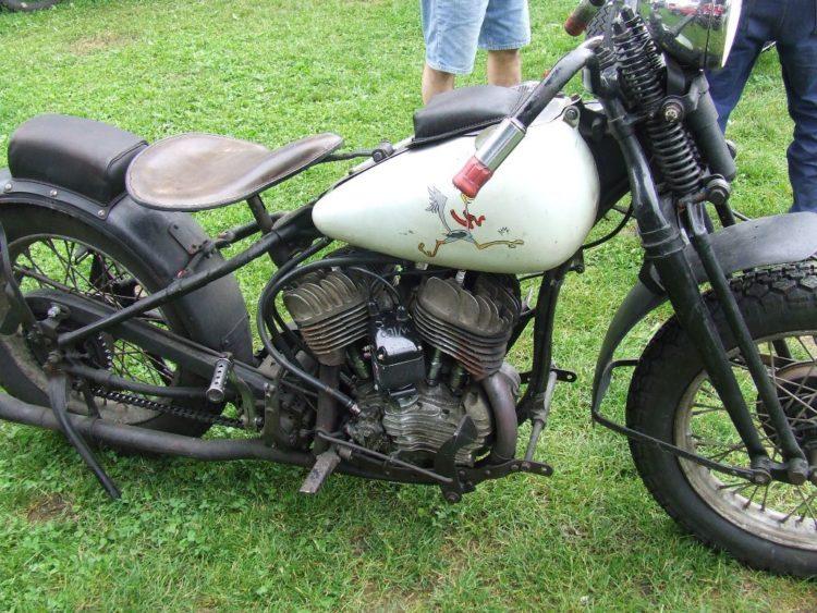 7246f1b89fd4ddad90334eaa0eb60f77 Los cinco mejores modelos de Harley Davidson de los años 40