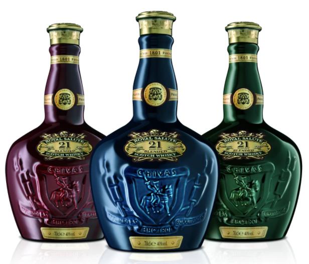 77 .Las 10 botellas de Chivas Regal más caras 2021