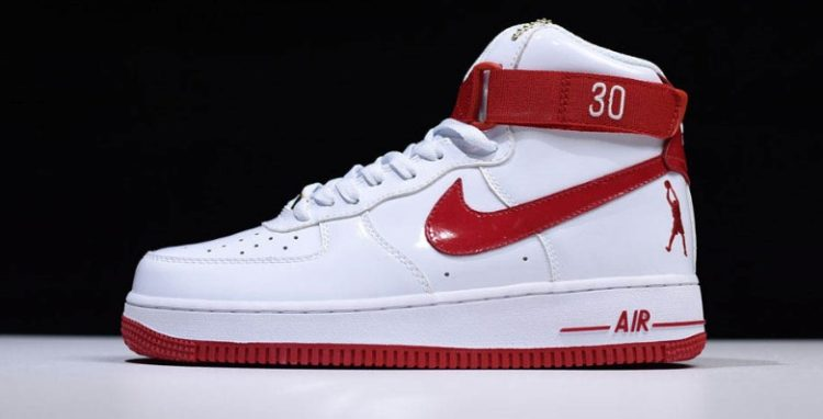 AF1 red La historia y evolución de las Nike Air Force 1