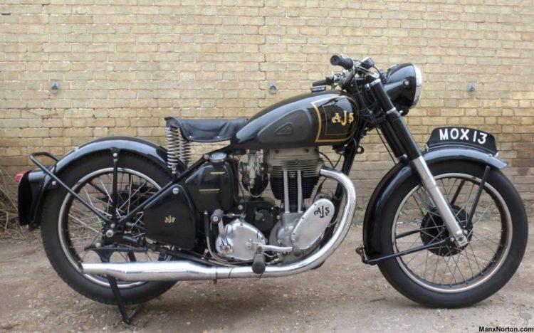 AJS 1952 Model 18 500cc AT 11 Las cinco mejores motocicletas Harley Davidson de la década de 1950