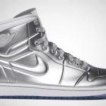 Air Jordan Silver Shoe Una mirada más cercana a los zapatos plateados Air Jordan de $ 60,000