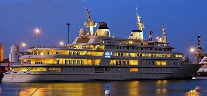 Al Said Yacht Una mirada más cercana al superyate de $ 300 millones Al Said