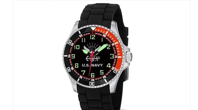 Reloj de buceo azul marino Armed Forces Gear