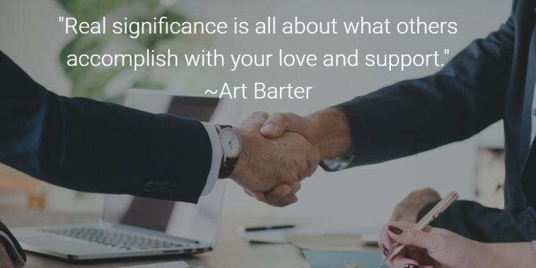 Art Barter 5 preguntas que los líderes deben hacer para determinar la influencia real de uno