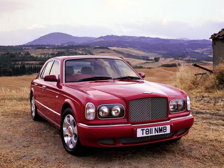 BENTLEY Arnage Red Label 1599 20 La historia y evolución del Bentley Arnage