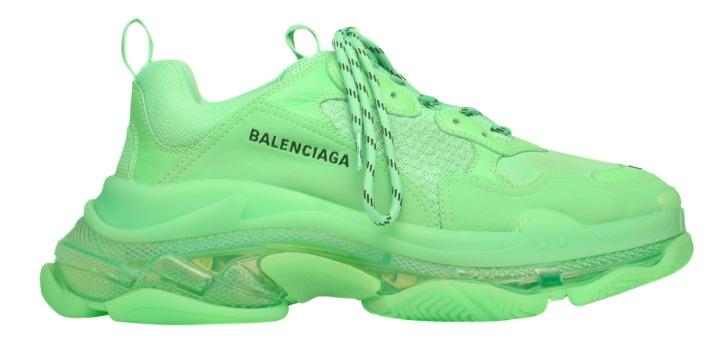 Balenciaga Triple S (Verde Neón)