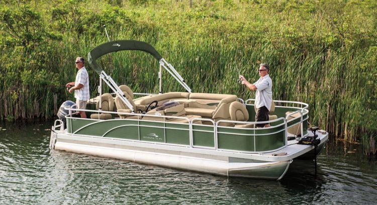 Barco pontón de pesca Bennington S21