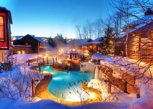 Best winter spa resorts Scandinave Spa Blue Mountain Cinco escapadas románticas poco convencionales en 2019