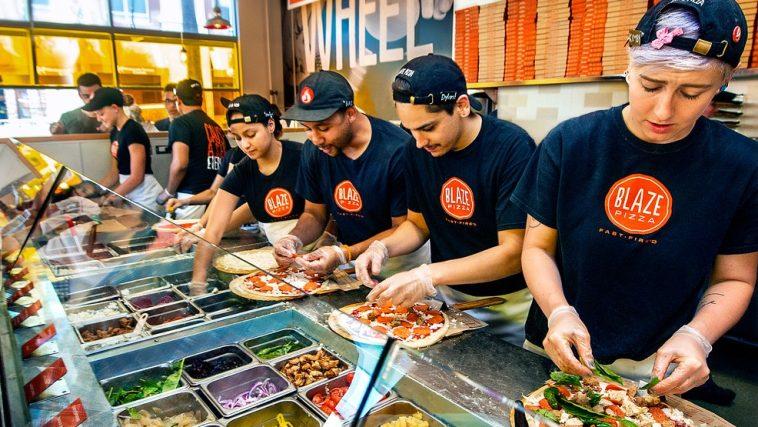 Blaze ¿Puede Blaze Pizza ponerse al día con los grandes actores de la industria?