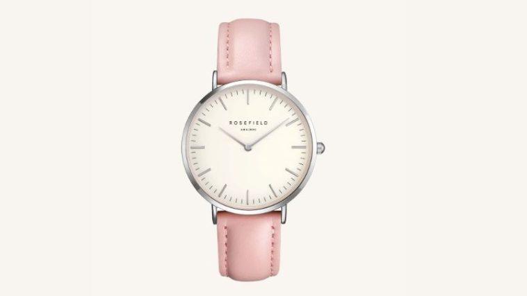 Bowery Pink Silver Los 20 mejores relojes Rosefield de todos los tiempos