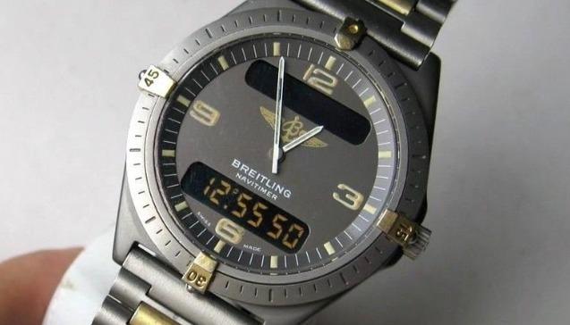 Breitling Aerospace Chronograph Navitimer Titanio 40 mm Cuarzo