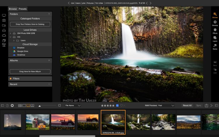 Browse 2 Los cinco mejores programas de software de fotografía disponibles en la actualidad