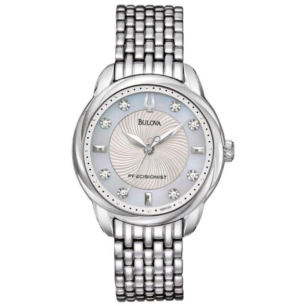 Bulova Womens Precisionist Brightwater Watch Los 7 mejores relojes para mujeres por menos de $ 500