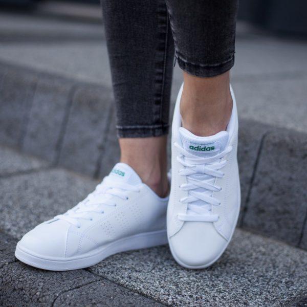 Buty Lifestyle BUTY ADIDAS VS ADVANTAGE CLEAN K Biały 2 Los cinco mejores modelos de Adidas NEO disponibles hoy