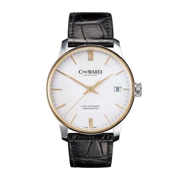 C9 Single Pusher Chrono 18ct Gold Bezel Los cinco mejores relojes de Christopher Ward en el mercado hoy