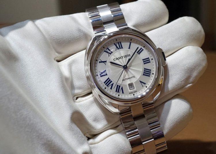 CledeCartierStainlesssteel Los cinco mejores relojes helados del mercado actual