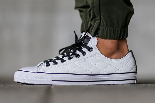 Converse Chuck Taylor All Star Quilted Pack 3 Las cinco mejores zapatillas Converse blancas del mercado