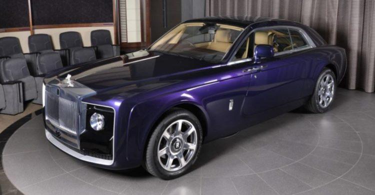 Cola de barrido personalizada de Rolls Royce