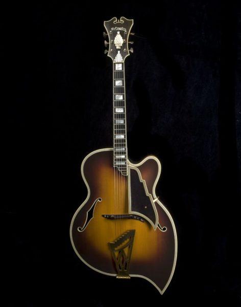 D'Angelico New Yorker Teardrop Las guitarras acústicas más caras jamás vendidas