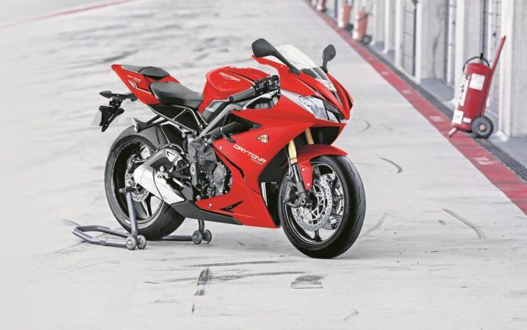 DAYTONA 765 red Las cinco mejores motocicletas Triumph de los 90