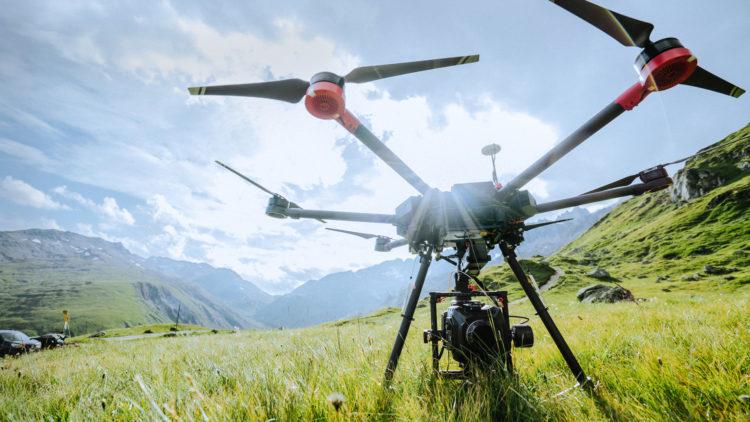 DJI Inspire RAW Los 10 drones más caros que puedes comprar
