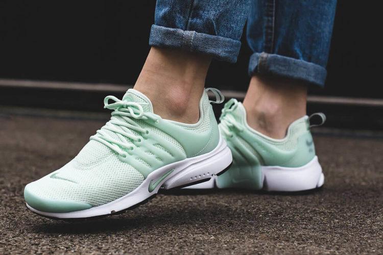 Damskie Nike Air Presto Barely Green Enamel Green 1 Las cinco mejores zapatillas Nike Uptempo del mercado actual