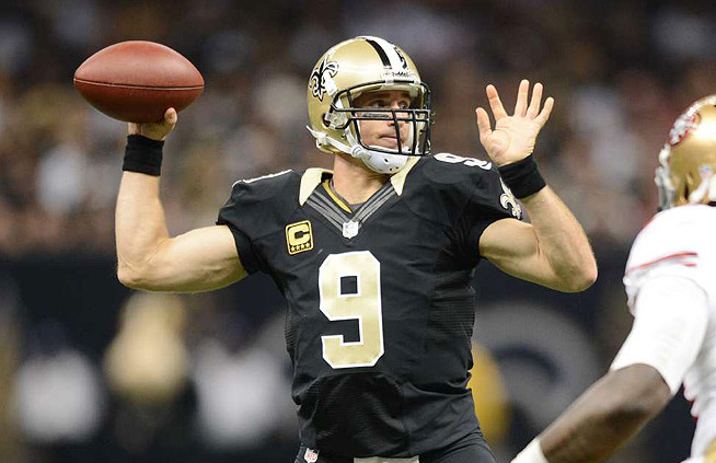 Drew Brees 1 Los 20 mariscales de campo de la NFL más ricos de la historia