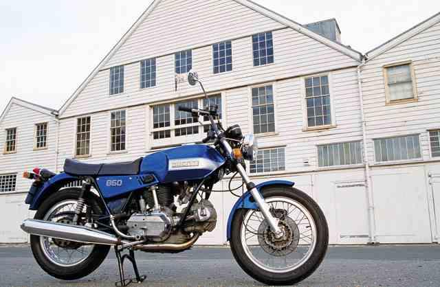 Du860GT 06 Las cinco mejores motocicletas Ducati de los años 70