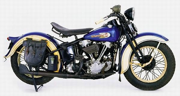 """EL """"Knucklehead"""" 1936 Las 10 motocicletas Harley Davidson más caras"""