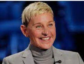 Ellen DeGeneres .Los 20 comediantes más ricos del mundo 2021