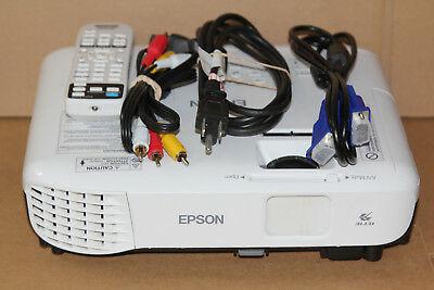 Epson H838A VS250 SVGA 3LCD Projector with Remote Los cinco mejores mini proyectores de oficina del mercado actual