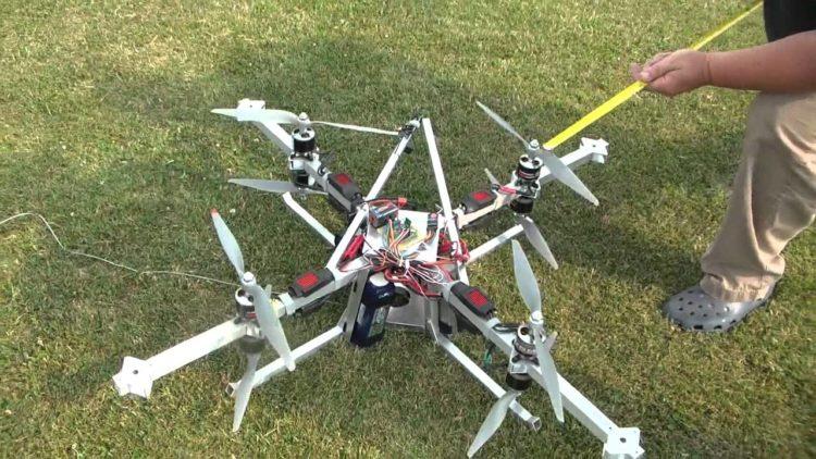 Faucon's Drone Lifter Series V1.0 Octocopter Los 10 drones más caros que puedes comprar