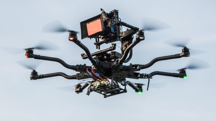 Freefly Alta 8 8 Rotor Aerial Drone UAV Optimized Los 10 drones más caros que puedes comprar