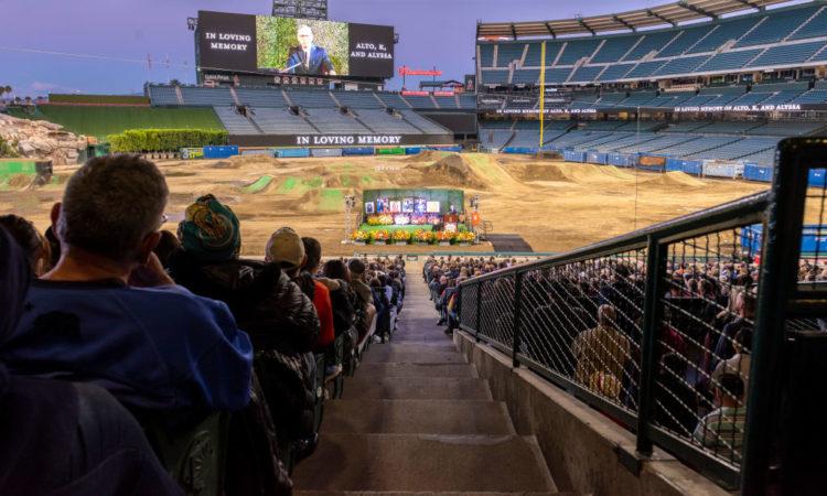 Tour del Angel Stadium de Anaheim