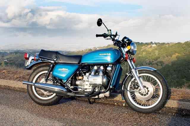 GoldWing3 Las cinco mejores motocicletas Honda de la década de 1970