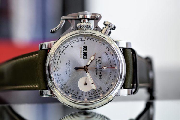 Graham Chronofighter Vintage Pulsometer Ltd 3 Los cinco mejores relojes RGM del mercado actual