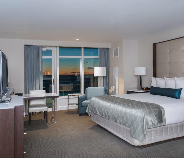 Grand Pequot Tower Foxwoods Deluxe Bed Los cinco mejores hoteles en Foxwoods