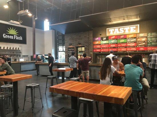 Green Flash Brewery 10 razones para visitar Green Flash Brewing Co. en San Diego