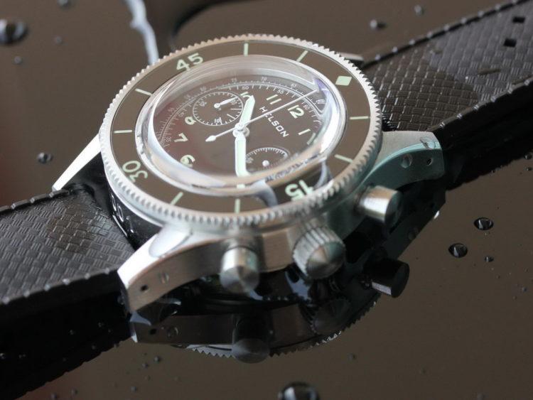 HELSON Skindiver Chrono Los cinco mejores relojes Helson del mercado actual