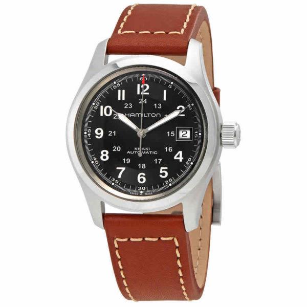 Hamilton Khaki Black Dial Mens Watch Los 10 mejores relojes Hamilton de 2019