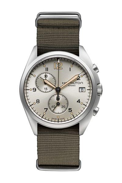 Hamilton Khaki Pilot Pioneer Reloj de cuarzo para hombre