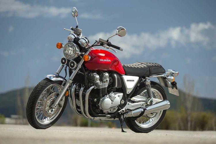 Honda CB1100 Ex Las 10 mejores motocicletas para principiantes