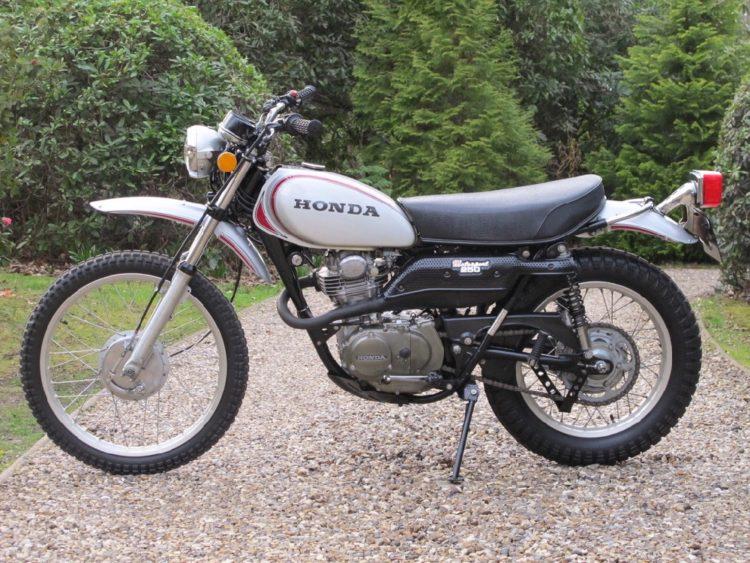 Honda XL250 K0 2 Las cinco mejores motocicletas Honda de la década de 1970