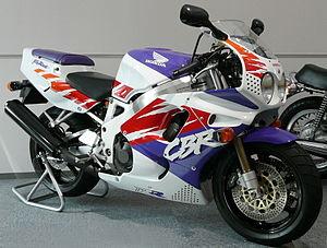 Honda CBR900RR Fireblade 1992 croppedjpg Las 10 mejores motos deportivas de los 90