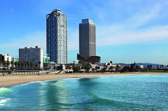 Hotel Arts Barcelona Los 10 hoteles más caros de España